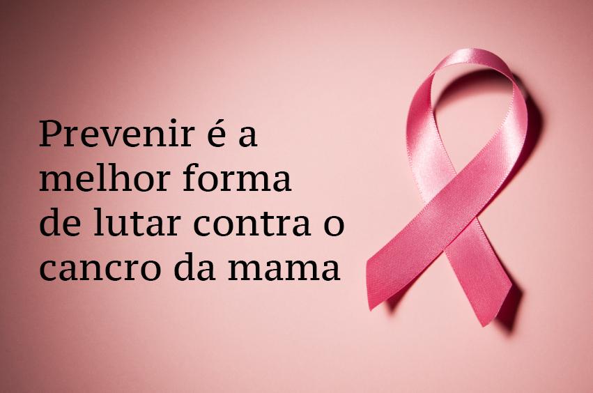 Prevenir é a melhor prevenção do cancro da mama